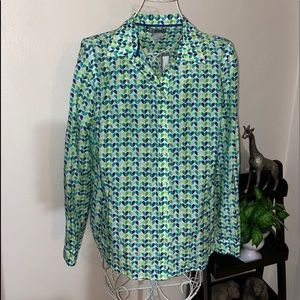 Brand New Cute JCP women blouse  size large